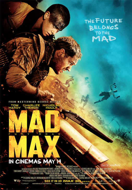 Mad Max Irish Poster