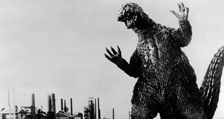 Godzilla B&W
