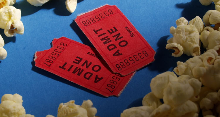 Popcorn Cinema Ticket Feature