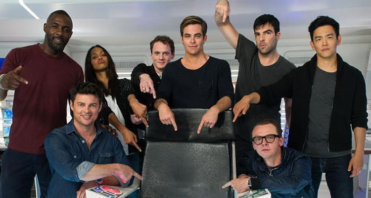 Star Trek Beyond Cast Feature