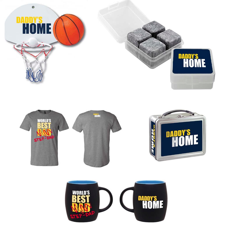 Daddys Home Prizes