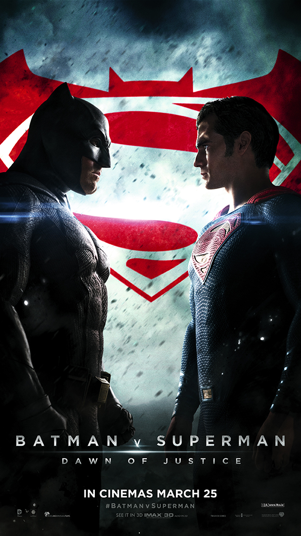 Batman V Superman Irish Poster