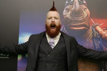Turtles Sheamus TMNT Teenage Mutant WWE
