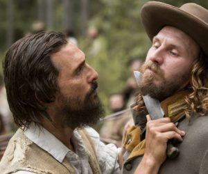 Matthew McConaughey and Bill Tangradi star in FREE STATE OF JONES