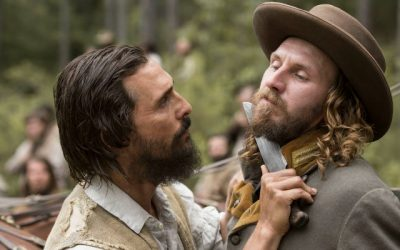 Matthew McConaughey and Bill Tangradi star in FREE STATE OF JONES