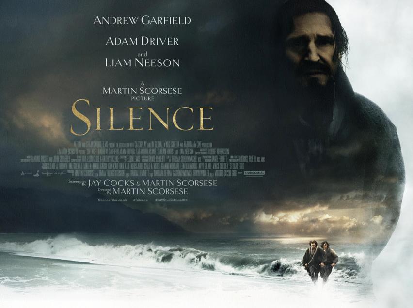 Silence Irish Poster