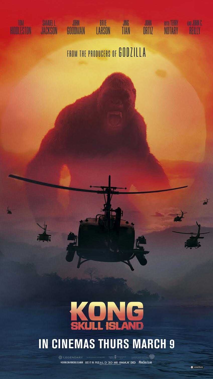 Kong Skull Movie Poster