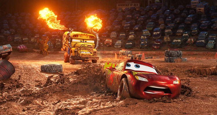 New 'Cars 3' Trailer Highlights Lightning's New Rival, Jackson Storm