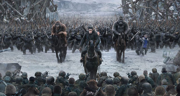 Final WAR FOR THE PLANET OF THE APES Released