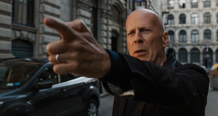Bruce Willis is back in action - and Eli Roth directs him