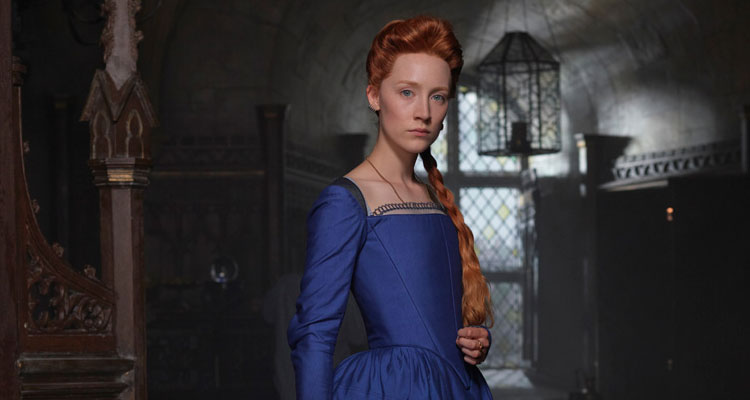 Saoirse Ronan begins filming Mary Queen of Scots
