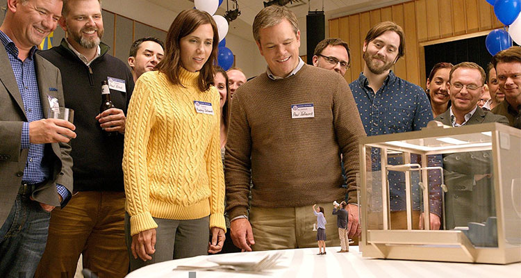 Matt Damon & Kristen Wiig Get Tiny in 'Downsizing' Trailer
