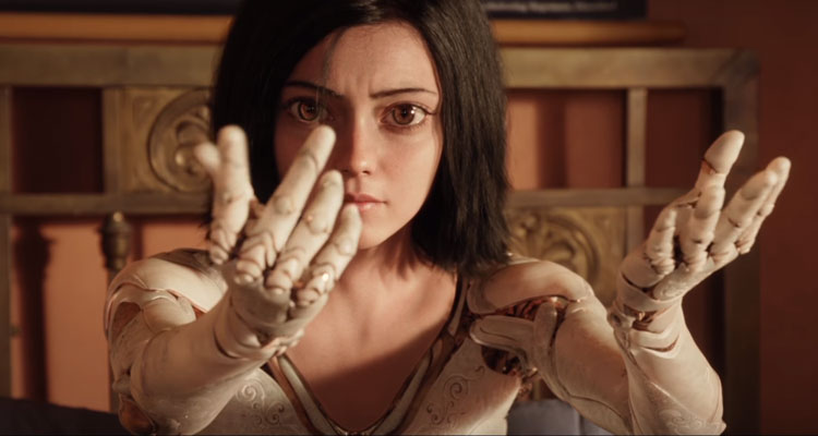 Cyborg Action Thriller 'Alita: Battle Angel' from James Cameron and Robert Rodriguez