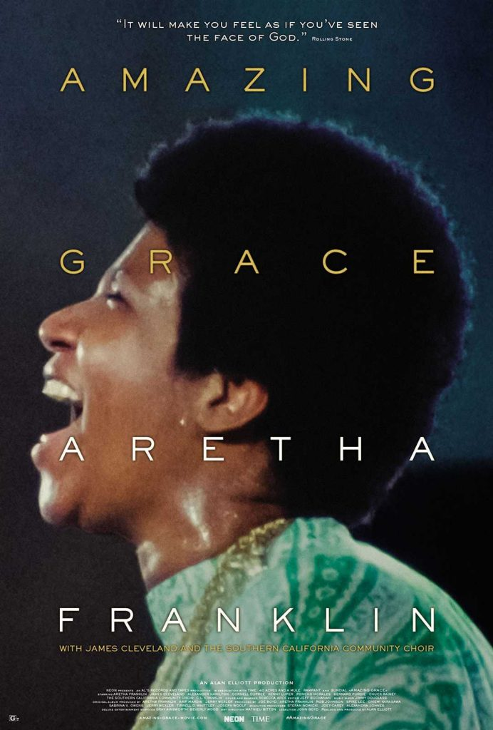 Trailer For Aretha Franklin Concert Film AMAZING GRACE