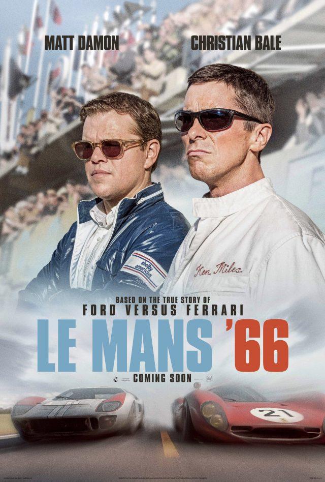 Watch Ford V Ferrari In New Trailer For Le Mans 66 Starring Christian Bale Matt Damon Highlight Trailers Twitter Movies Ie Irish Cinema Site
